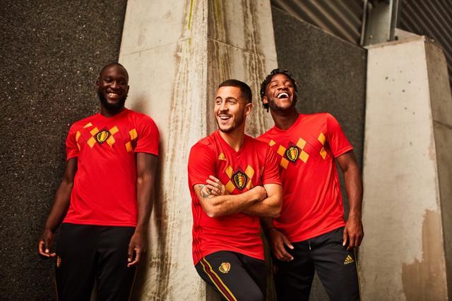Belgija reprezentacija 2018 World Cup home kit objavljen