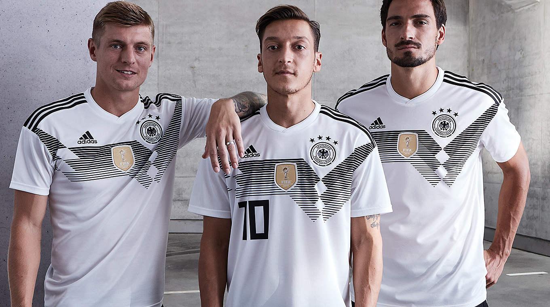 Najavljena je njemačka reprezentacija nogometne košulje Svjetskog kupa