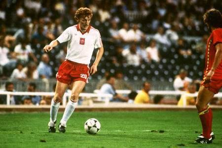 Prva nogometna zvijezda Poljska reprezentacije je Zbigniew Boniek